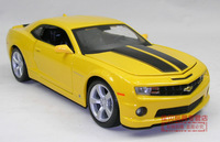 Free Shipping high quality alloy car model toy for children, 1:24 Camaro Bumblebee car model, diecast alloy car toy
