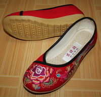 2013 Summer And Spring Women Chinese BeiJing Fashion Casual Embroidered Shoes 121 Seven Colors USA Size4-8.5