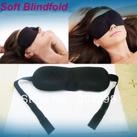 30 pcs Sponge goggles Soft polyester Eye Mask Shade Nap Cover Blindfold Sleeping Travel Rest Christmas gift FreeShipping