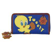 TB 2013 Fashion Cute Little Tweety Cartoon Pattern Long Design Women Wallet Candy Color Block Shoulder Small Bags Purses