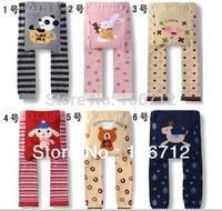 Wholesale BUSHA Toddler Boys Girls Baby Legging Tights Leg Warmer Socks Pants PP Pants 5PCS/lot