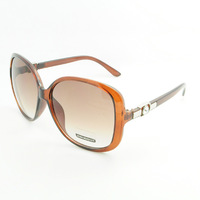 custom design butterfly sunglasses big frame pink sun glasses SH13038