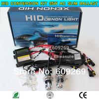 HID conversion Xenon KIT Bi-Xenon  Bulb Car Headlamp Light with relay  H4-3,H13-3, 9004-3,9007-3 12V 35W  AC Silm Ballast