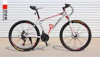 Aluminum alloy hard tail mountain bike bicycle,26''wheel 21 speed 18'' frame 2 dics brake,rider 158-185cm,air parcel is sea ship
