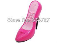 Home Office  Novelty  High Heel Shoe Shape Telephone Corded Phone - Rosy
