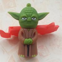 128GB Mini Star Wars Master Yoda Pen Drive Free Shipping 8GB 32GB USB Flash Drive Cartoon Iron Man 64GB Minions Memory Stick