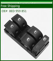 For 06-08 Audi A4 B7 Sedan Master Window Panel Power Switch Control 8E0959851B