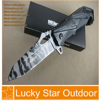 Boker X17 pocket hunting knives Outdoor Tactical survival Folding blade Aluminum handle Liner lock free shipping