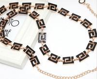 Fashion decoration tassel oil all-match metal chain belly chain women's waist decoration belly chain belt