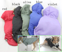 High Quality Cotton Parka Coats Winter Clothes For Big Dogs 2014 New Pets Products Clothing Free Shipping