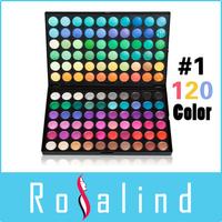 Rosalind 120 Color Eyeshadow 1# Eye Shadow Cosmetics Makeup Palette Set Free Shipping Drop Shipping