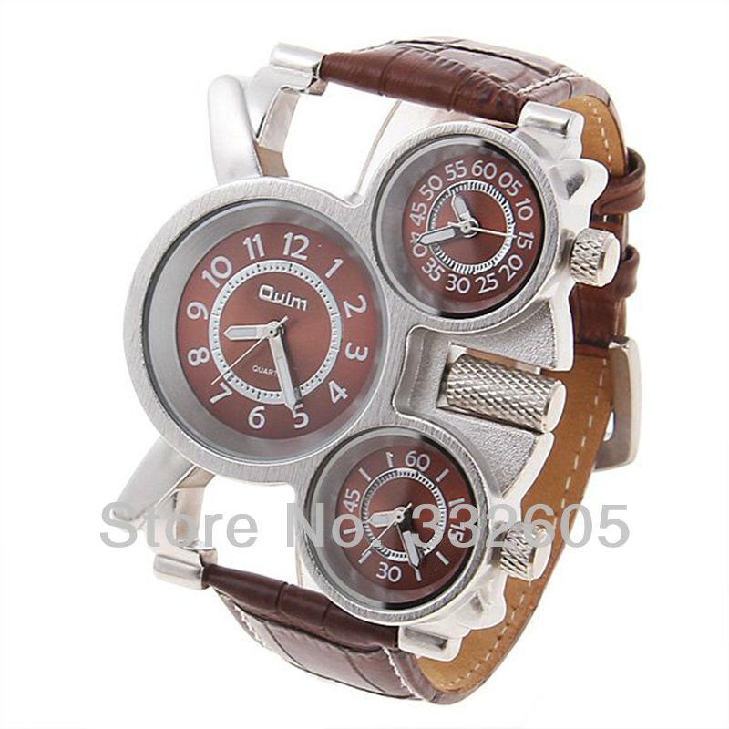 3 movt oulm quartz wrist sport