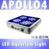 2014 HOT! Apollo 4 48*3W LED aquarium light for saltwater reef,  high power led aquarium panel light, aquarium marine