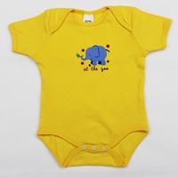 3pcs/lot New 2014 baby Bodysuits short sleeve baby clothing size 3M-18M  #16580U Free Shipping