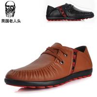 Free Shipping Crocodile spring male casual shoes men driving shoes fashion flat fashion shoes