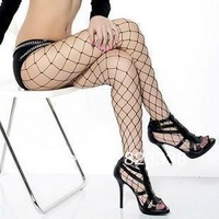 Free shipping women  Fashion Sexy Lingerie Big Nets Eye Tights Pantyhose Stockings