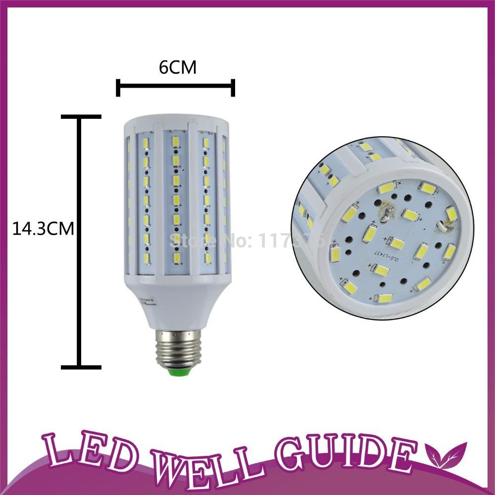 LED Corn Bulb E27 15W 10W 25W E14 led lamp 5730 SMD 360 degree  AC110V 220V Bulb lighting, white&warm white,Free shipping