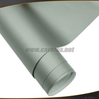 Matte gray vinyl car wrap color sticker 1.52*30 roll with self adhesive air bubble free