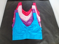 Free Shipping 3pcs/set,single-layer sport Bra As on TV with 7color