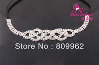 2013 News Free Shipping 2pcs/lot Rhinestone/Crystal Fashion Headband Hot Sale Bridal Hair Accessories Wedding Head Pieces 111798
