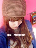 Fashion 2Color ren brown thick warm wool cotton hat hair acessories for hair turban elastic crochet headband headbands hair band