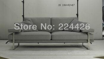Wholesales european style furniture 3 seat Fabric Sofa modern style leisure sofa