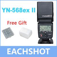Yongnuo YN-568EX II for Canon, Master HSS ETTL Flash Speedlite for 5DIII 5DII 5D 7D 60D 50D 650D 600D 550D 500D 450D 400D 350D