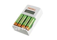 EU Plug Fast Charger 8152 Charging AA/AAA Mi-MH /Ni-Cd Rechargeable Battery+ 4pcs*Ni-MH AA2200mah/1.2V  Rechargeable Battery
