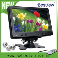 Free Shipping 7'' Inch VGA LCD Monitor 800*480 High Resolution (YV702)