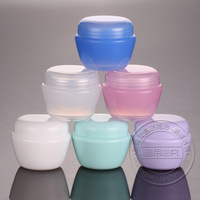 30PCS/LOT-50G Cream Jar,Multicolor Plastic Cosmetic Container,Mask Canister With Screw Cap,Sample Makeup Sub-bottling,Ball Type