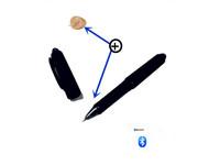 Classic bluetooth pen earphone invisible earphone covert earphone