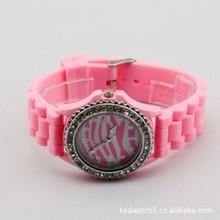 Free Shipping 20pcs/lot wholesale 2013 new Geneva Ladies/Students/girls Watches,100% Silicone Strap,Jewelry brand wristwatch