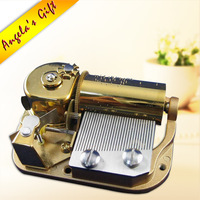 30 notes luxury music box mechanism, musical movements, unusual gifts for christmas / birthday, home decor