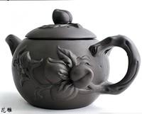 Teapot yixing teapot tea set peach 300cc