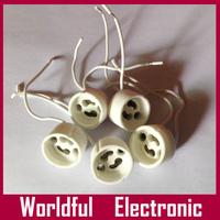 Wholesale LED GU10 Bulb Lamp Adapter Converter Holder GU10 LED Bulb base holder Free shipping