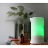 Ultrasonic 7 Color Rainbow LED Aroma Diffuser Air Humidifier Aromatherapy Purifier Mist Maker For Home Office Free Shipping