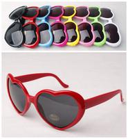 Vintage Retro Heart shaped Unisex Party Sunglasses as Promotion Gift for Mens Ladies,Wholesale Gafas de Sol,Lunettes de Soleil