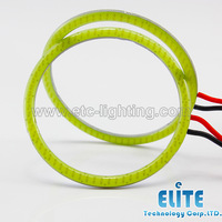 2pcs  70mm 4.5W COB Angel Eyes, COB Halo Rings, Diameter 70mm 81 LEDs, Free Shipping