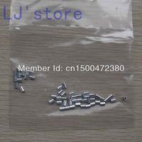 For 1.0mm Diameter Wire Rope Aluminum Oval Crimping Sleeve Aluminum ferrules 200Pcs