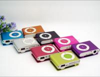 NNMM&& XXSSNN Wholesale clip mp3 music player with card slot mini mp3 player 8 colors & Free Shipping MMNN22 OOOSSS55 HHAA66