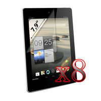 8xLCD Shiled Screen Protector Film for Acer Iconia A1 A1-810 7.9""