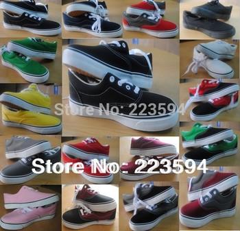 Новый 2015 мужская холст обувь низкого топ холст кроссовки холст обувь для мужчин и женщин обувь размер 35-45