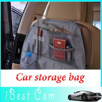 Free shipping Automobile multi-function receive bag car back chair more Nylon pocket storage bag wholesale hot sale