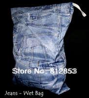 free shippng(20pcs/lot) single zipper wet bag for baby cloth diaper