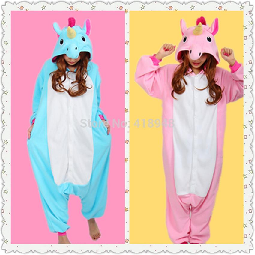New adult fleece pajamas unisex sleepsuit footed pyjamas onesie lovely