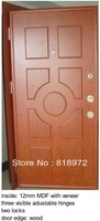 Turkey Style Adjustable Frame Steel Wood Armored Door