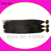 "mermaid hair virgin brazilian straight, 12""-28, natural color,100% unprocessed ,3pcs/lot"