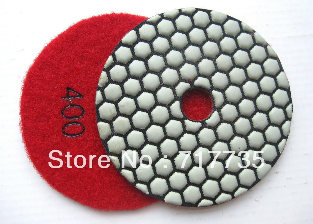 400 grit Flexible Polishing Pad, marble dry polishing pad, resin bond polishing pad, abrasive polishing pad(China (Mainland))