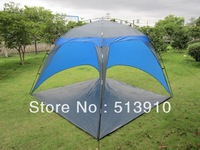 3-5Persons sun shade beach tent/Outdoor beach accounts, two shade tents, beach tents multiplayer ventilation