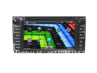 """car dvd gps player navigation for Toyota Universal touch screen 6.2"""" in dash 2 din head unit"""